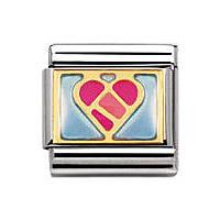 modulaire unisex bijoux Nomination Composable 030253/13