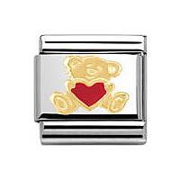 modulaire unisex bijoux Nomination Composable 030253/32