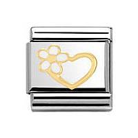 modulaire unisex bijoux Nomination Composable 030253/40