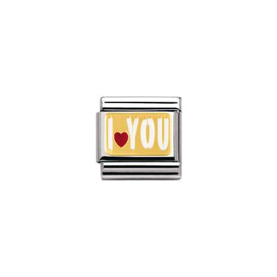 modulaire unisex bijoux Nomination Composable 030261/27