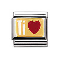modulaire unisex bijoux Nomination Composable 030261/28