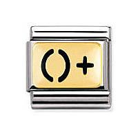 modulaire unisex bijoux Nomination Composable 030263/06