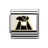 modulaire unisex bijoux Nomination Composable 030271/04