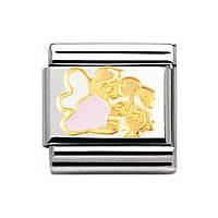 modulaire unisex bijoux Nomination Composable 030272/02