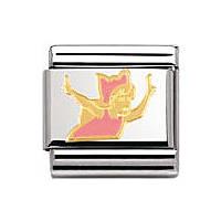 modulaire unisex bijoux Nomination Composable 030272/19