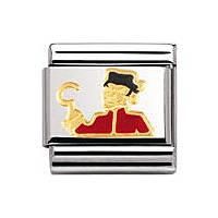 modulaire unisex bijoux Nomination Composable 030272/20