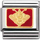 modulaire unisex bijoux Nomination Composable 030272/26