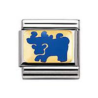 modulaire unisex bijoux Nomination Composable 030275/24