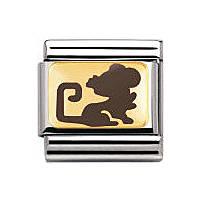 modulaire unisex bijoux Nomination Composable 030275/35