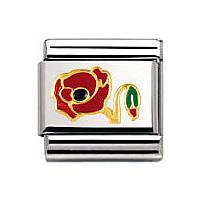 modulaire unisex bijoux Nomination Composable 030278/11
