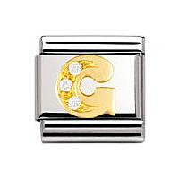 modulaire unisex bijoux Nomination Composable 030301/07