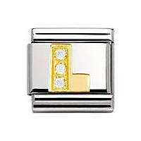 modulaire unisex bijoux Nomination Composable 030301/12