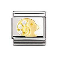 modulaire unisex bijoux Nomination Composable 030302/01