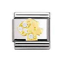 modulaire unisex bijoux Nomination Composable 030302/10