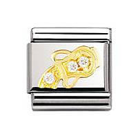 modulaire unisex bijoux Nomination Composable 030302/11