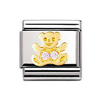modulaire unisex bijoux Nomination Composable 030304/06