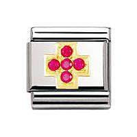 modulaire unisex bijoux Nomination Composable 030307/02