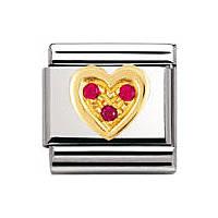 modulaire unisex bijoux Nomination Composable 030311/12