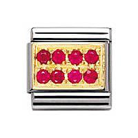 modulaire unisex bijoux Nomination Composable 030314/02