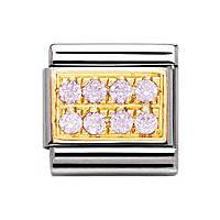 modulaire unisex bijoux Nomination Composable 030314/06