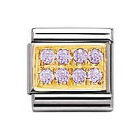 modulaire unisex bijoux Nomination Composable 030314/08