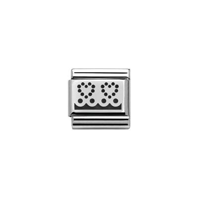 modulaire unisex bijoux Nomination Composable 330103/04