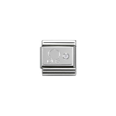 modulaire unisex bijoux Nomination Composable 330302/05