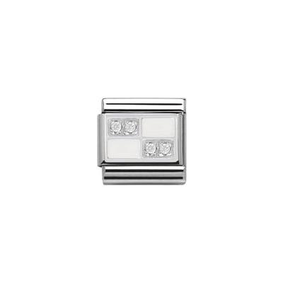 modulaire unisex bijoux Nomination Composable 330306/02