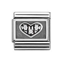 modulaire unisex bijoux Nomination Composable 330310/01