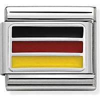 modular man jewellery Nom.Composable Bandiere 330207/14