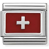 modular man jewellery Nom.Composable Bandiere 330207/17