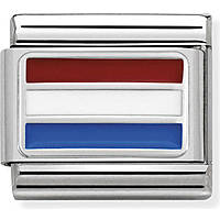 modular man jewellery Nom.Composable Bandiere 330207/19