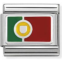 modular man jewellery Nom.Composable Bandiere 330207/23