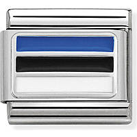modular man jewellery Nom.Composable Bandiere 330207/30