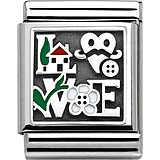 modular unisex jewellery Nom.Composable 332203/14
