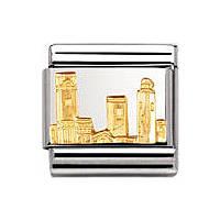 modular unisex jewellery Nomination Composable 030123/40