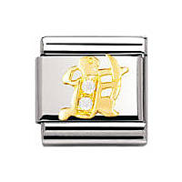 modular unisex jewellery Nomination Composable 030302/09