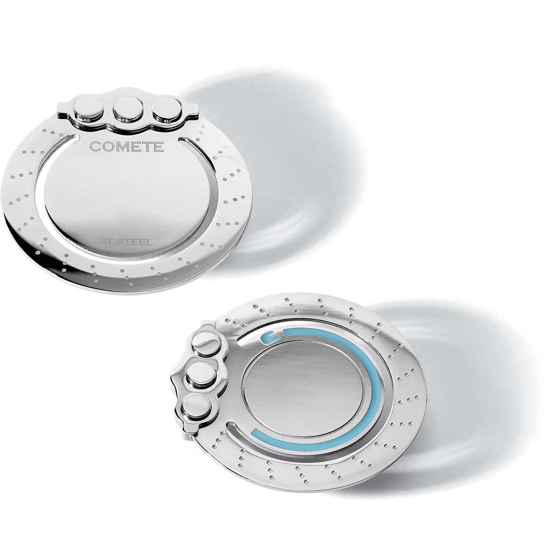 moneyclips man jewellery Comete Casco Azzurro UFS 011