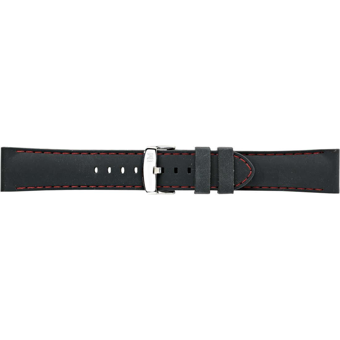 montre bande de montres homme Morellato Technogomma A01U3844187883CR24