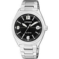 montre chronographe femme Citizen Eco-Drive FE6000-53E