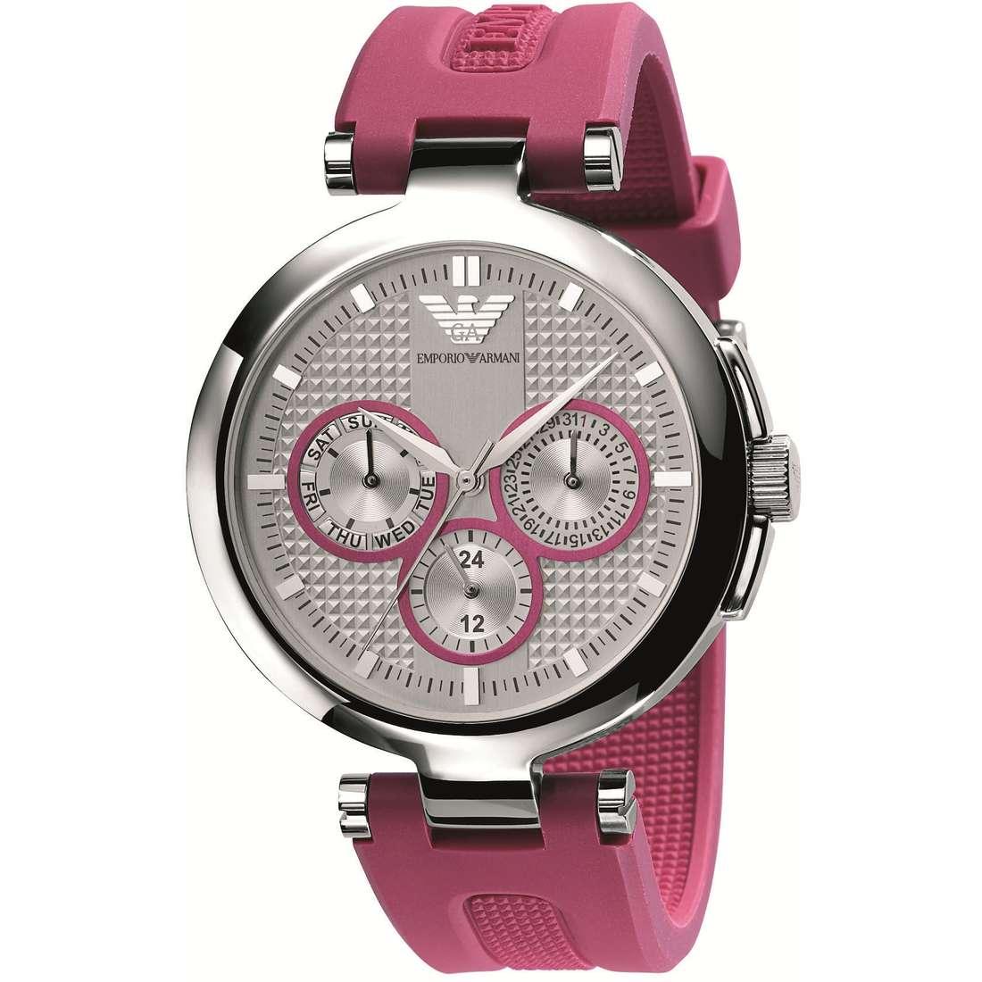 montre chronographe femme Emporio Armani AR0737