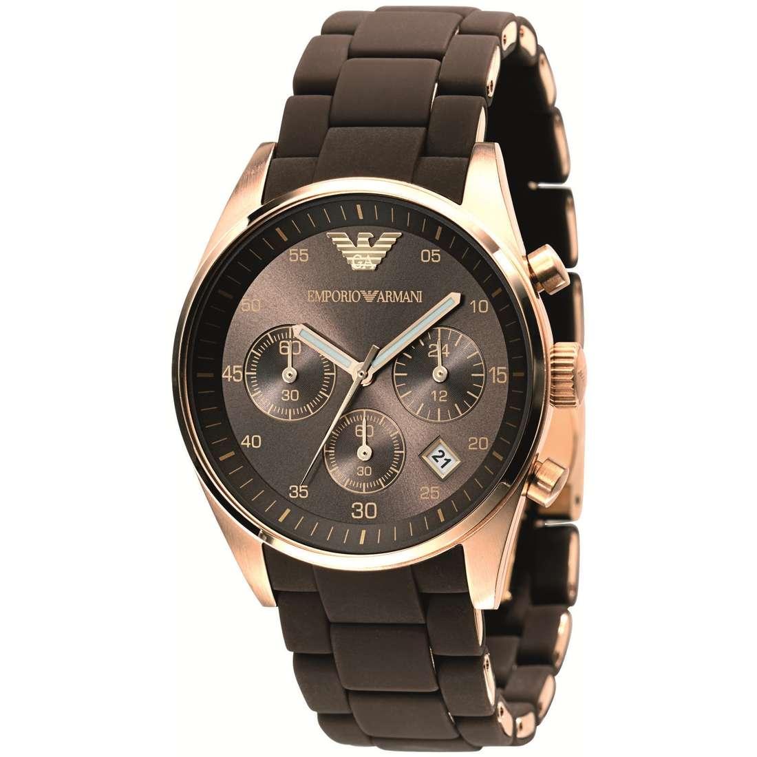 montre chronographe femme Emporio Armani AR5891
