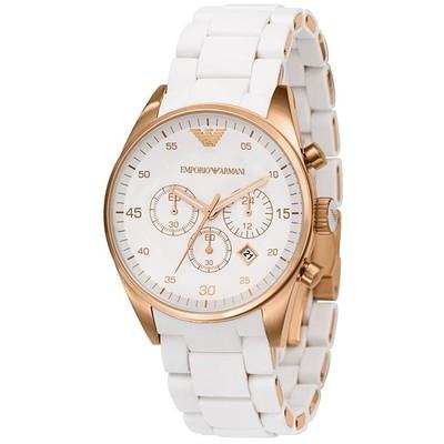 montre chronographe femme Emporio Armani AR5920