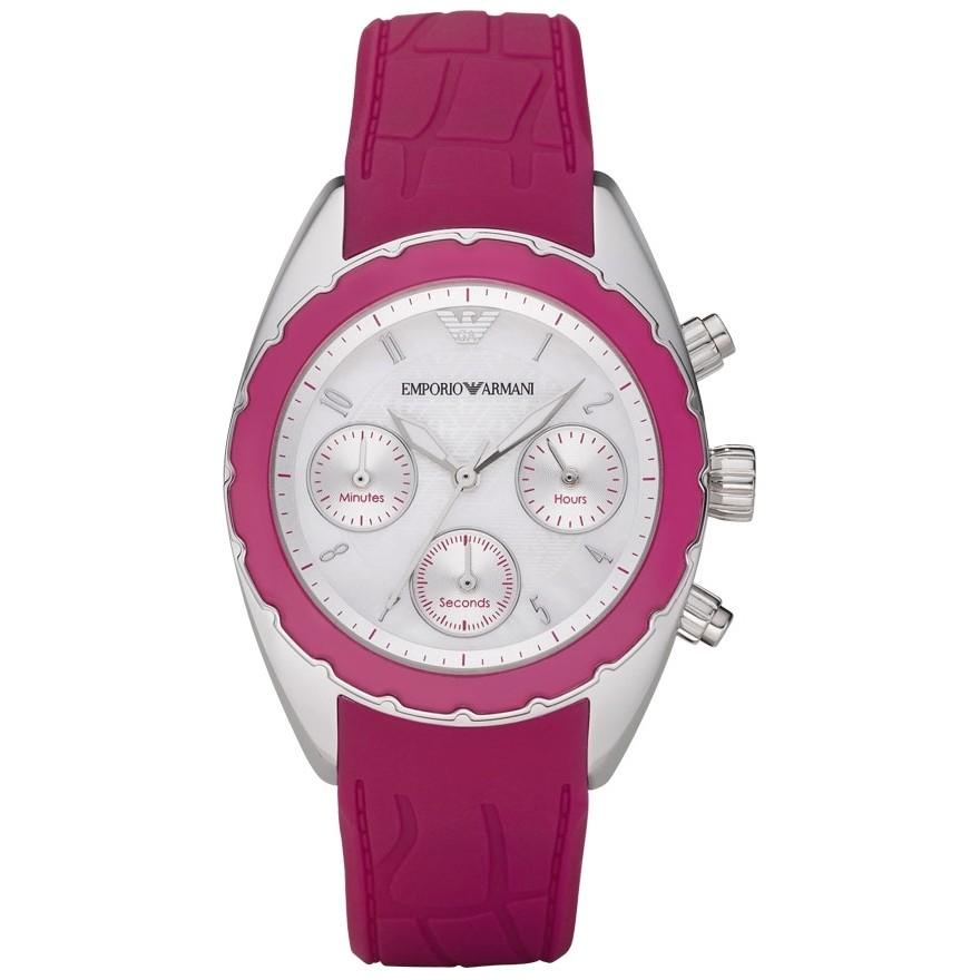 montre chronographe femme Emporio Armani AR5937