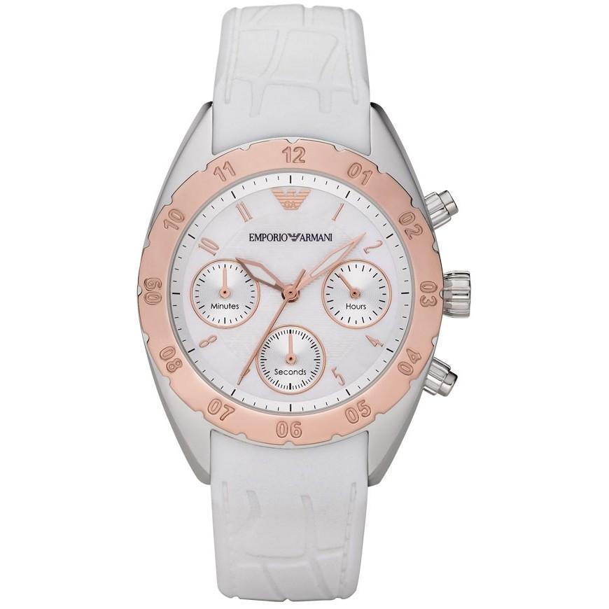 montre chronographe femme Emporio Armani AR5938