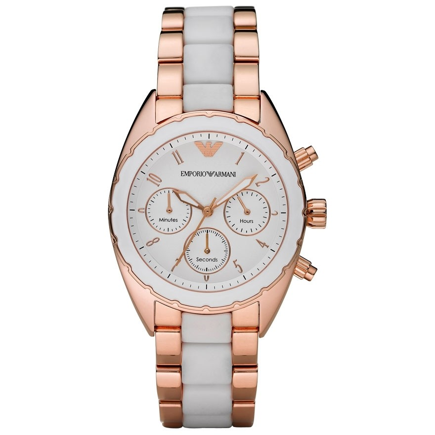 montre chronographe femme Emporio Armani AR5942