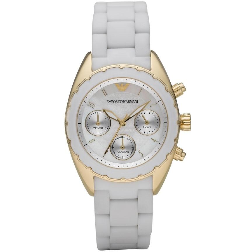 montre chronographe femme Emporio Armani AR5945