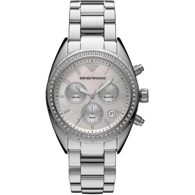 montre chronographe femme Emporio Armani AR5959
