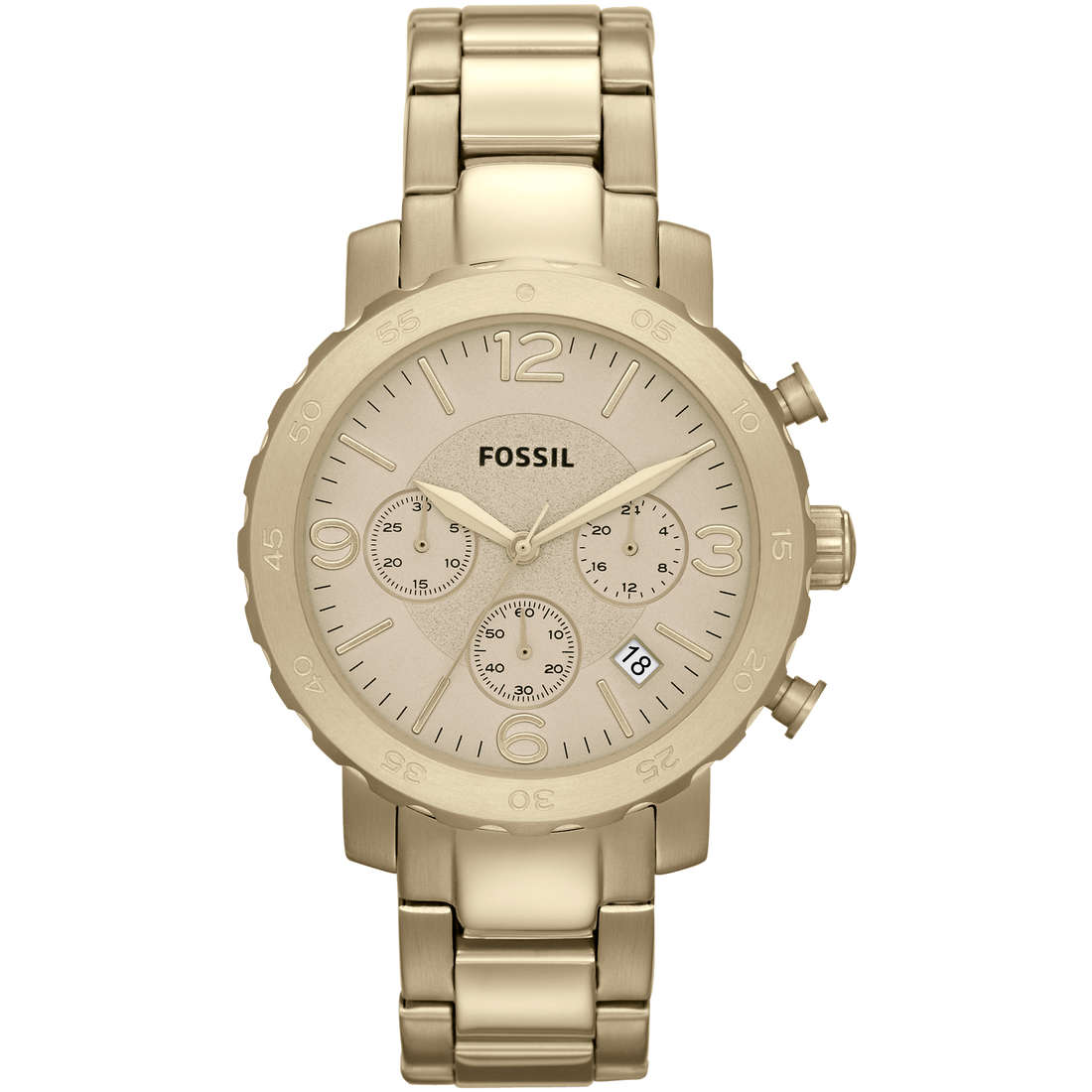 montre chronographe femme Fossil AM4422