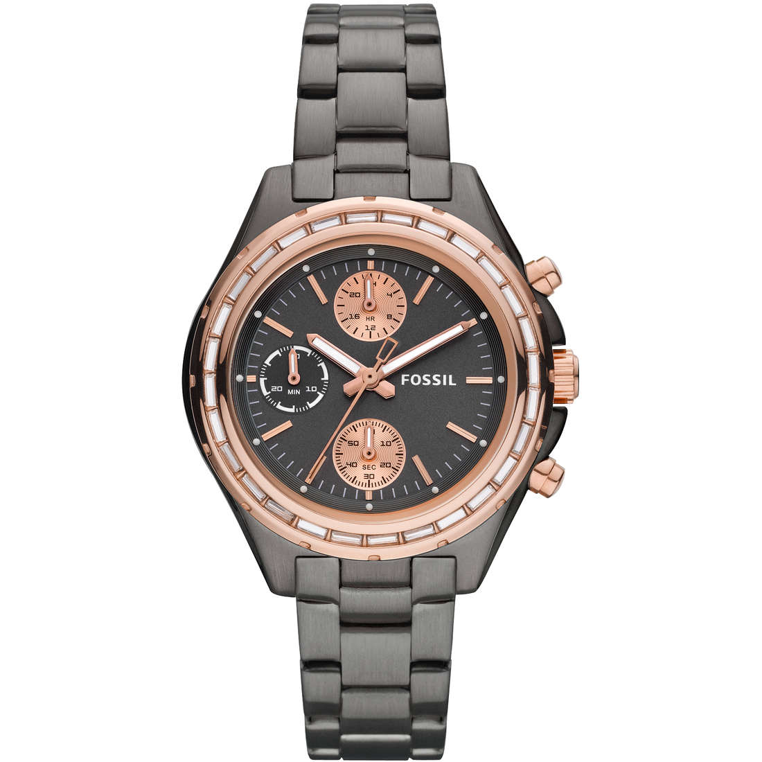 montre chronographe femme Fossil CH2825